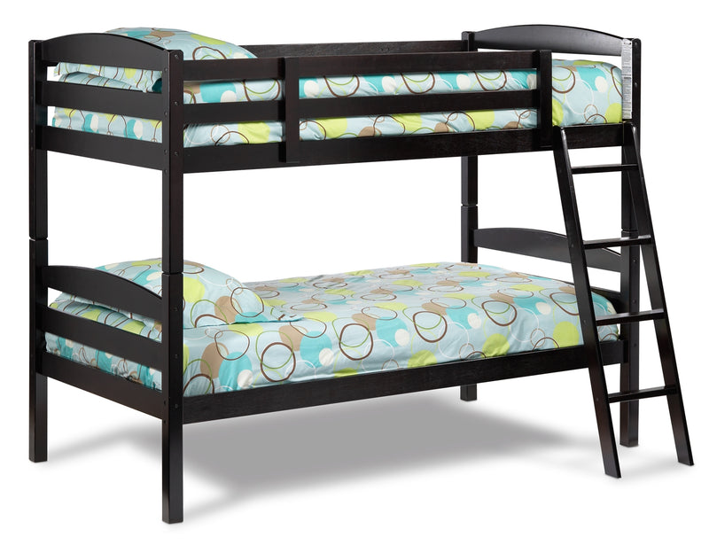Houlten Bunk Bed - Dark Chocolate