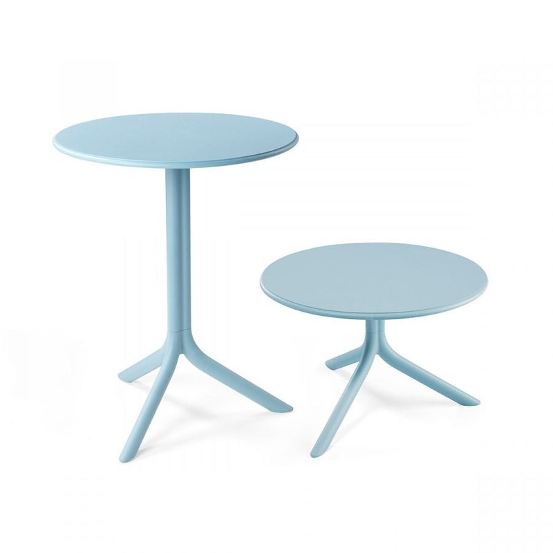 Nardi Spritz Outdoor Adjustable Bistro Tables - Light Blue