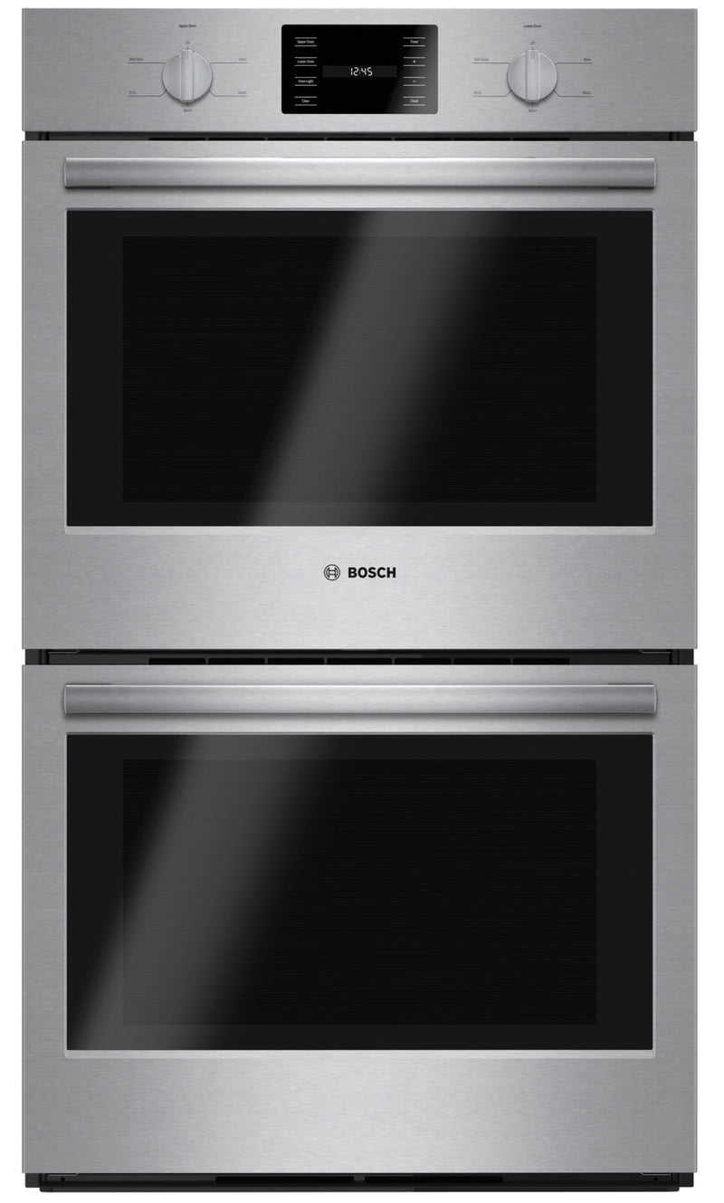 "Bosch 30"" 9.2 Cu. Ft. 500 Series Double Wall Oven - HBL5551UC"