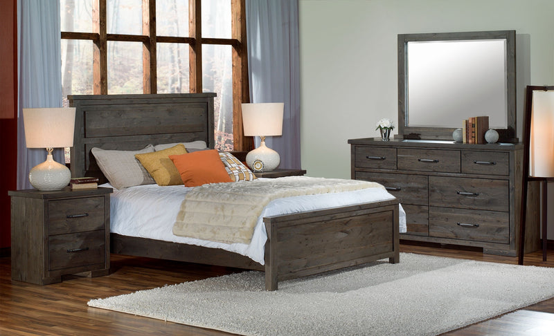 Raven 5-Piece Queen Bedroom Set - Slate
