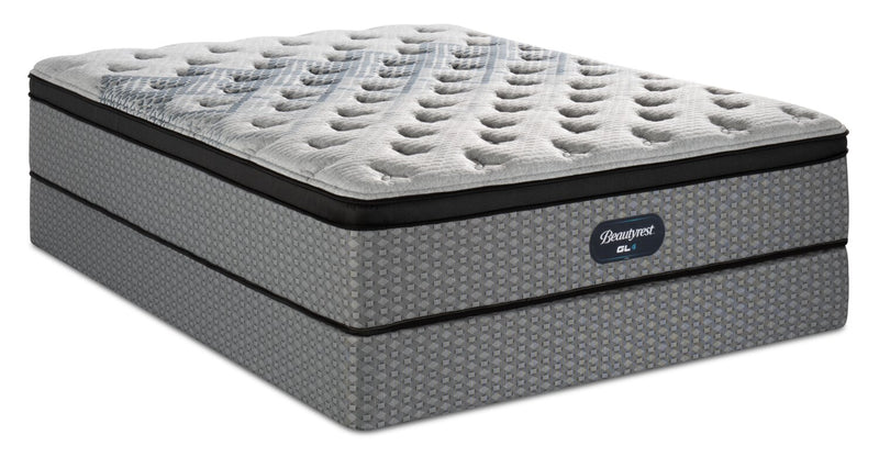 Beautyrest® GL4 Eurotop Queen Mattress Set