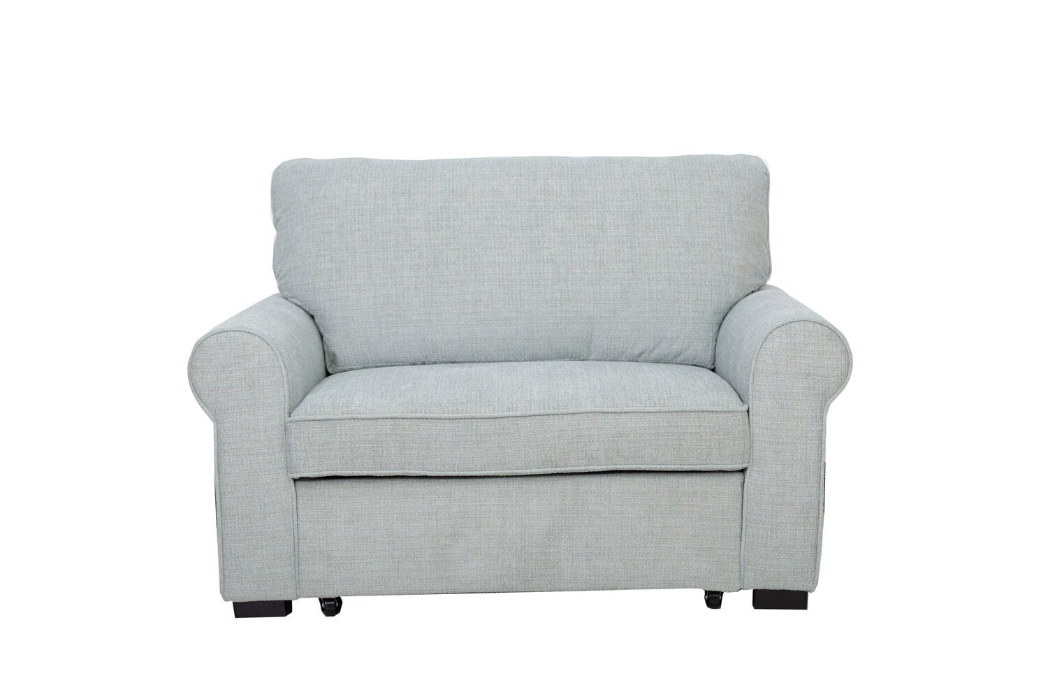 Picture of: Solera Fabric Chair With Pull Out Ottoman Seafoam Furniture Ca