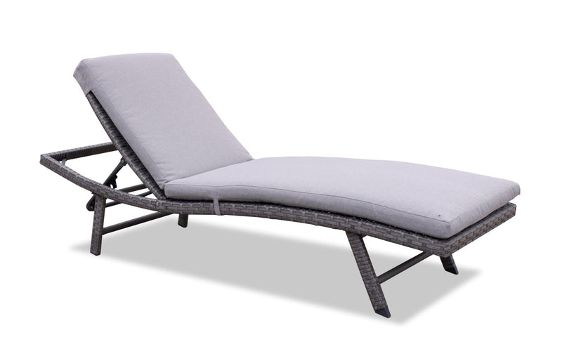 Rios Lounger - Grey