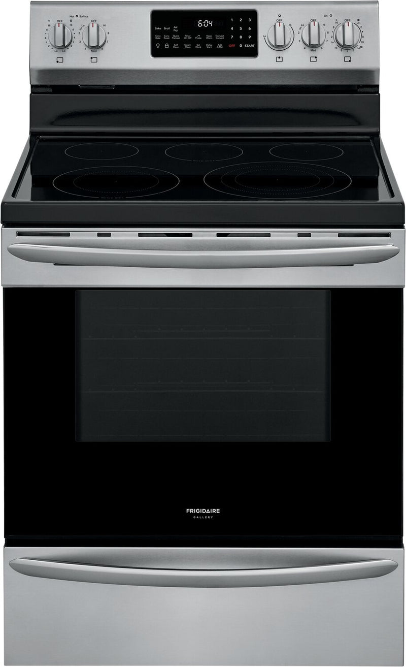 Frigidaire Gallery 5.7 Cu. Ft. Freestanding Electric Range with Air Fry - GCRE306CAF