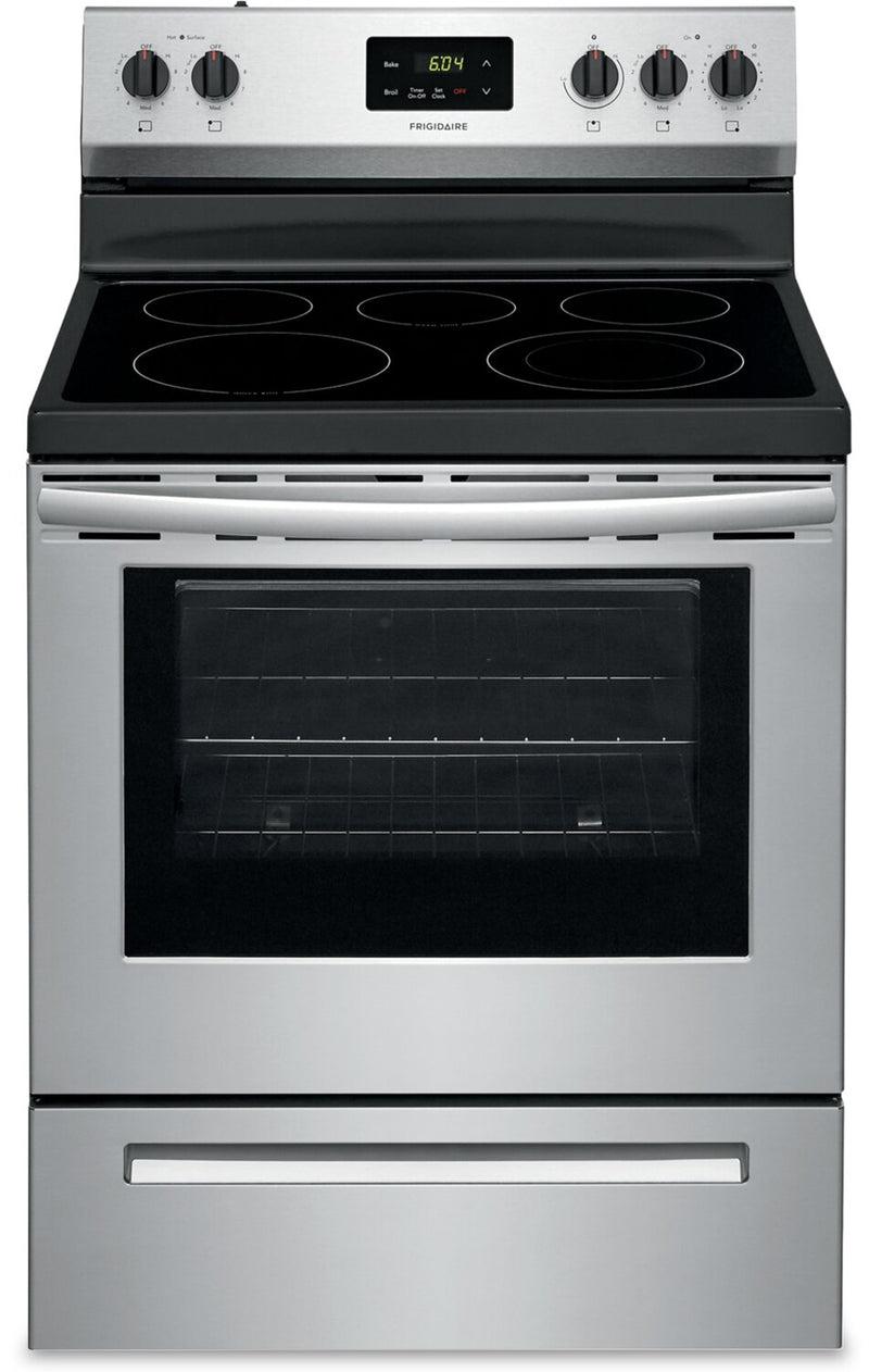 Frigidaire 5.8 Cu. Ft. Freestanding Electric Range - FCRE305CAS