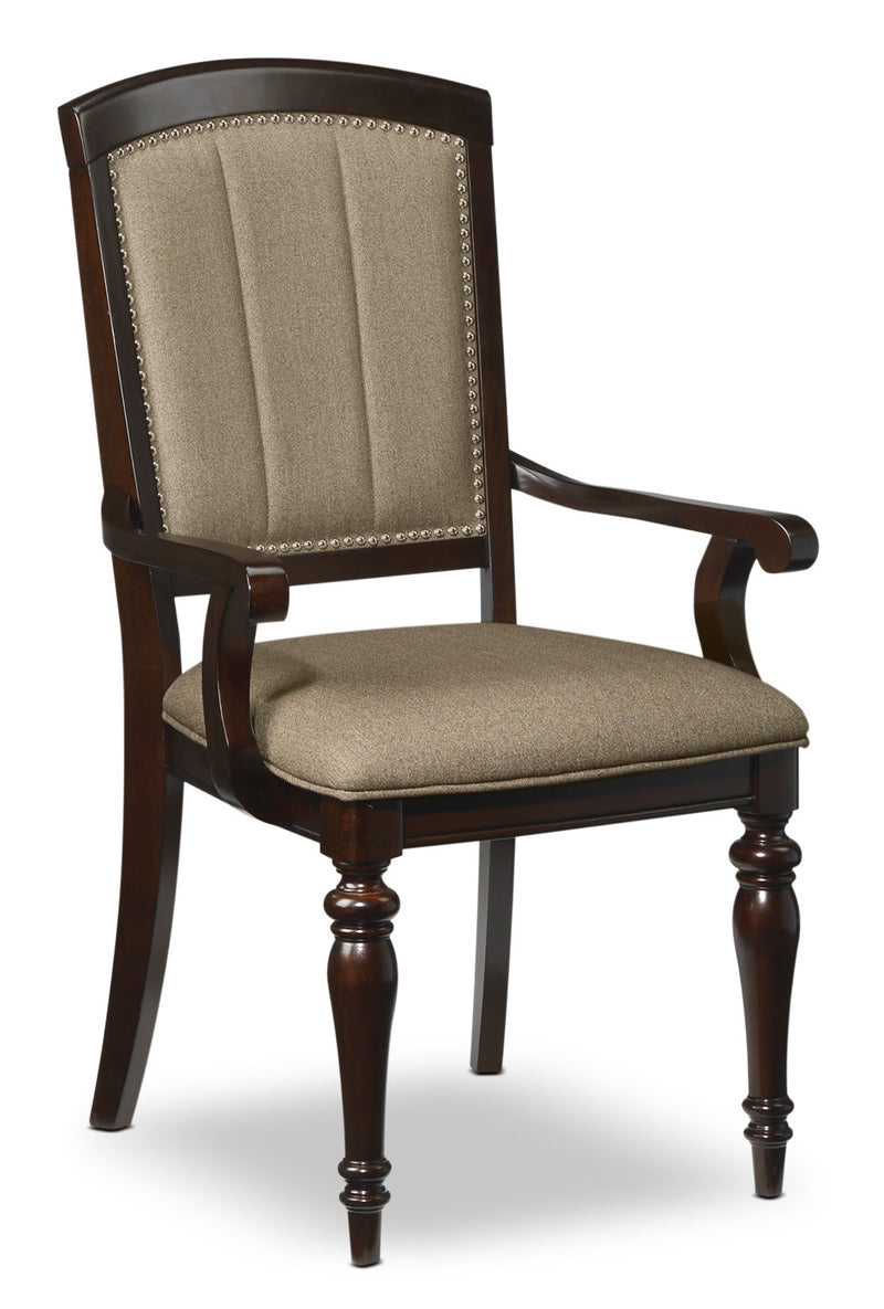 Whitehill Arm Chair - Dark Cherry