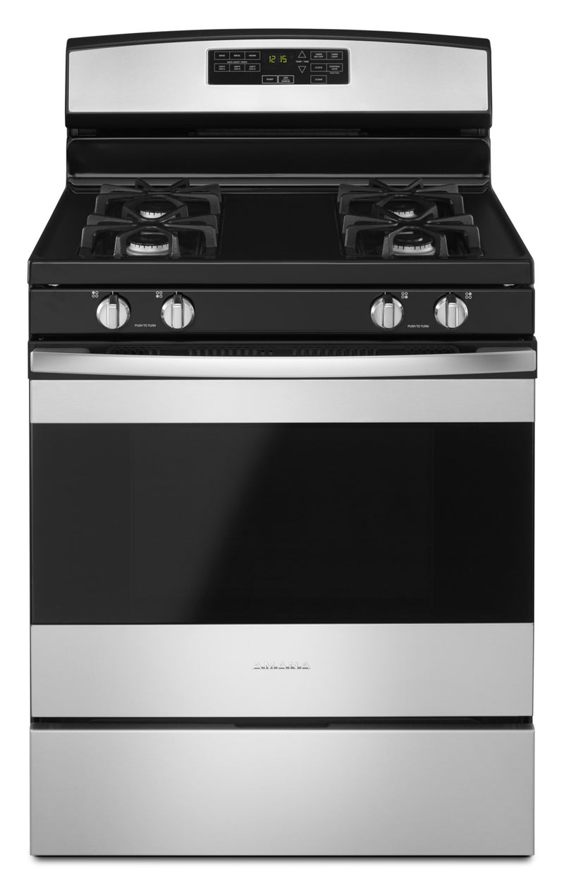 Amana 5.0 Cu. Ft. Freestanding Gas Range with Self-Clean - AGR6603SFS