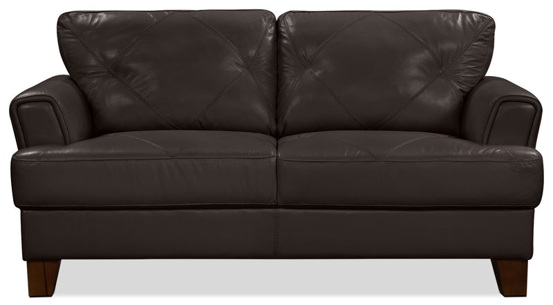 Ventnor Chocolate Loveseat
