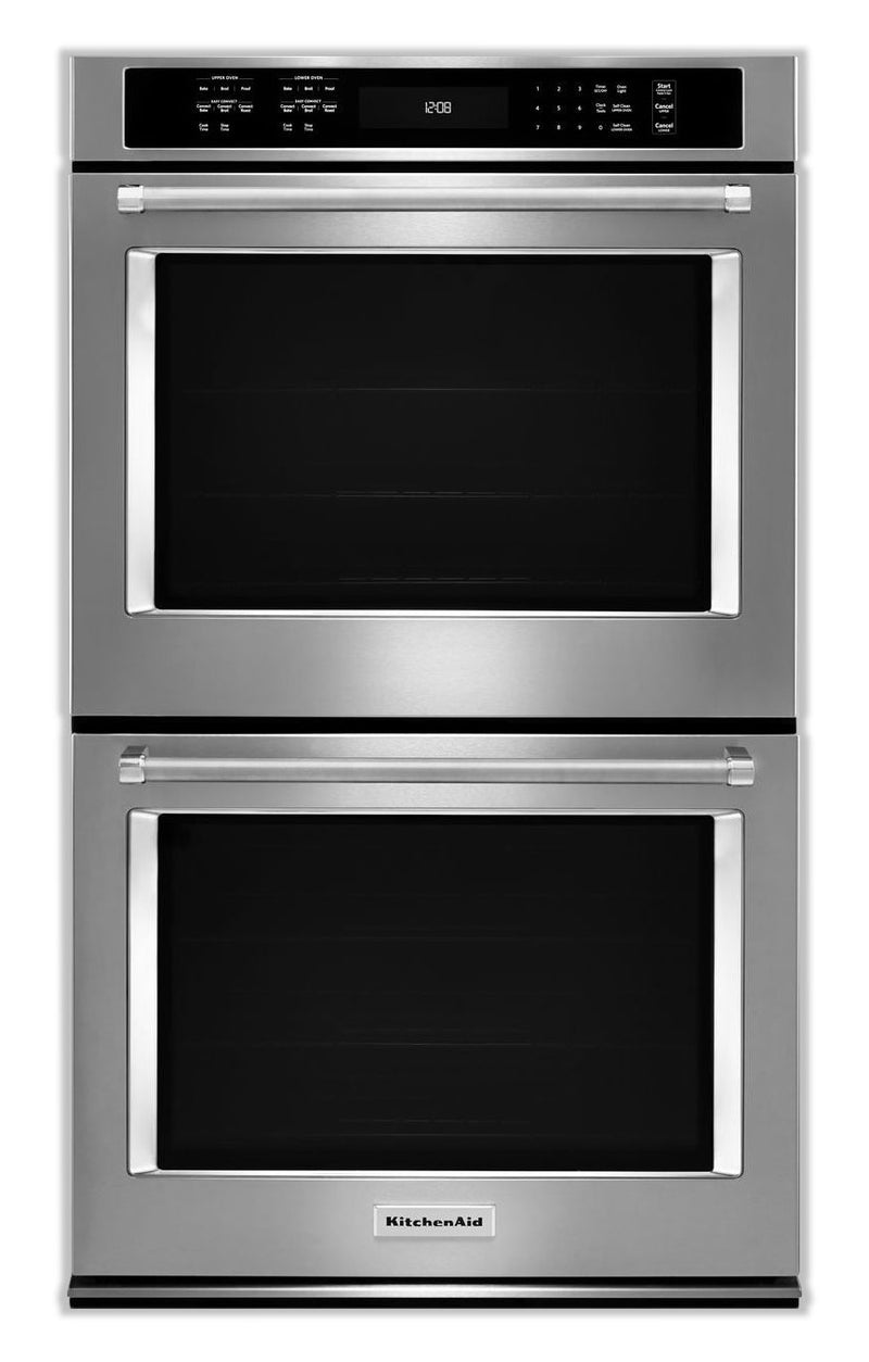KitchenAid Stainless Steel Double Wall Oven (10 Cu. Ft.) - KODE500ESS