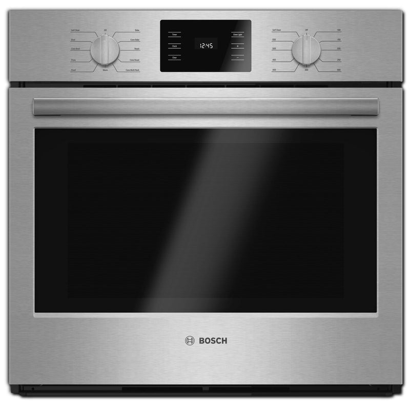 "Bosch 30"" Electric Convection Single Wall Oven - Stainless Steel"