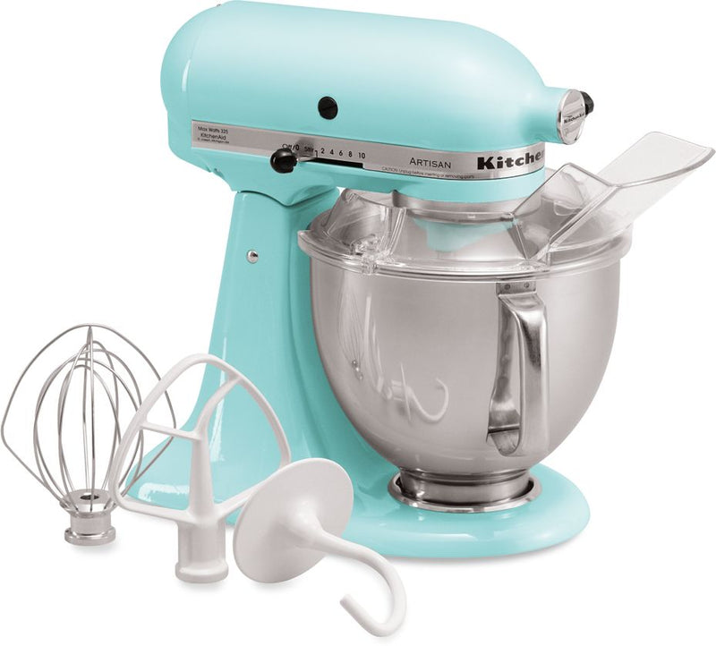 KitchenAid Ice Blue 5-Quart Tilt-Head Stand Mixer - KSM150PSIC