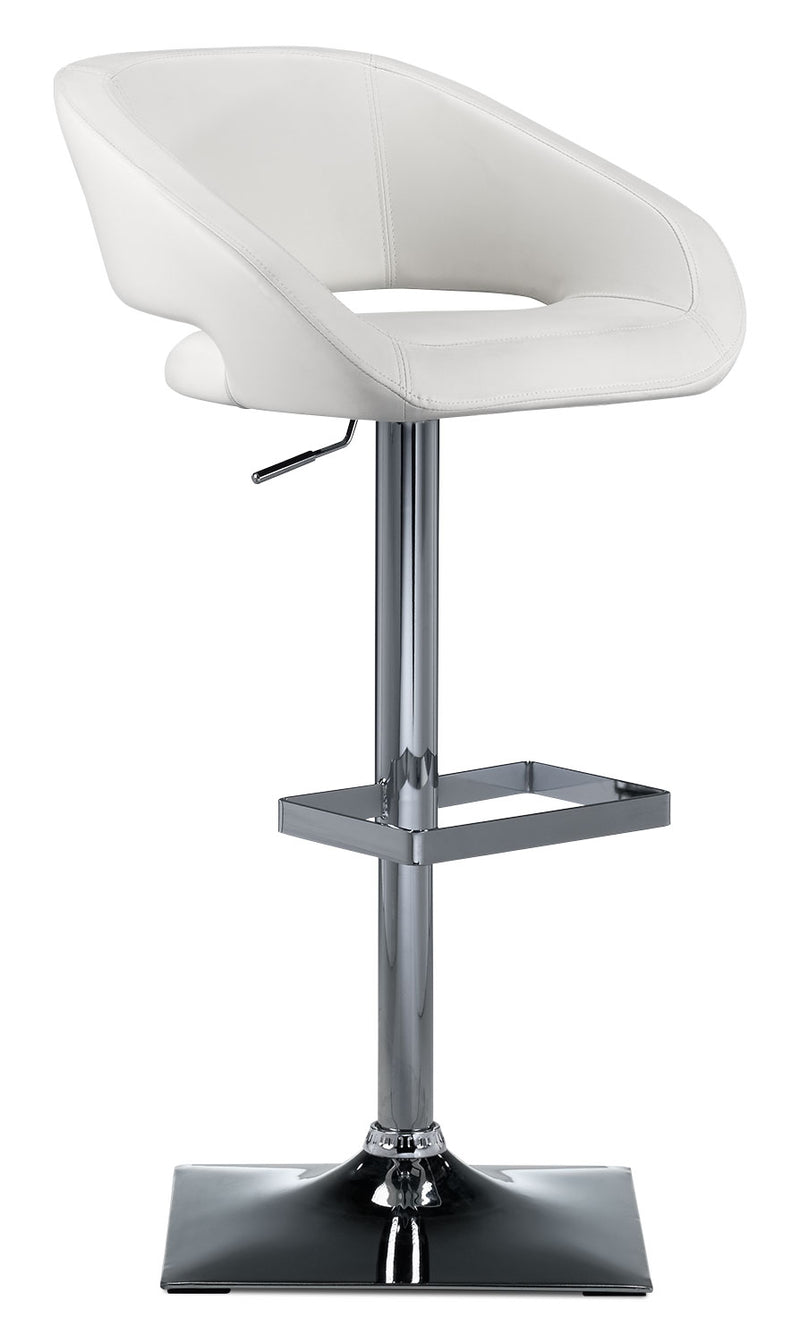 Biggs Barstool - White