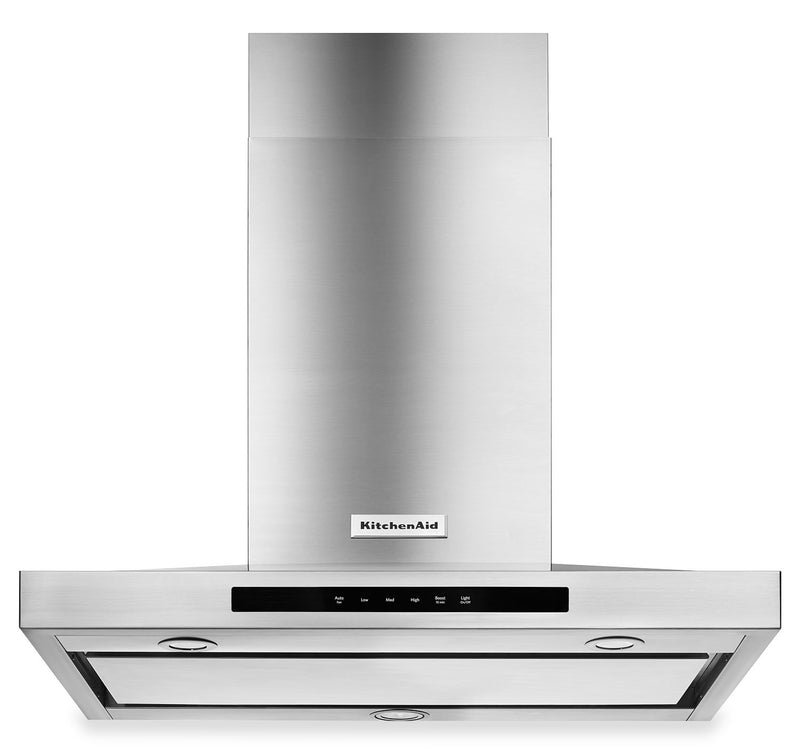 "KitchenAid Stainless Steel 36"" Wall-Mount Canopy Range Hood KVWB606DSS"