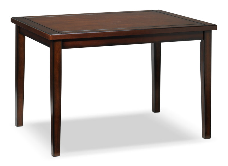 Morrissey Dining Table - Dark Brown Cherry