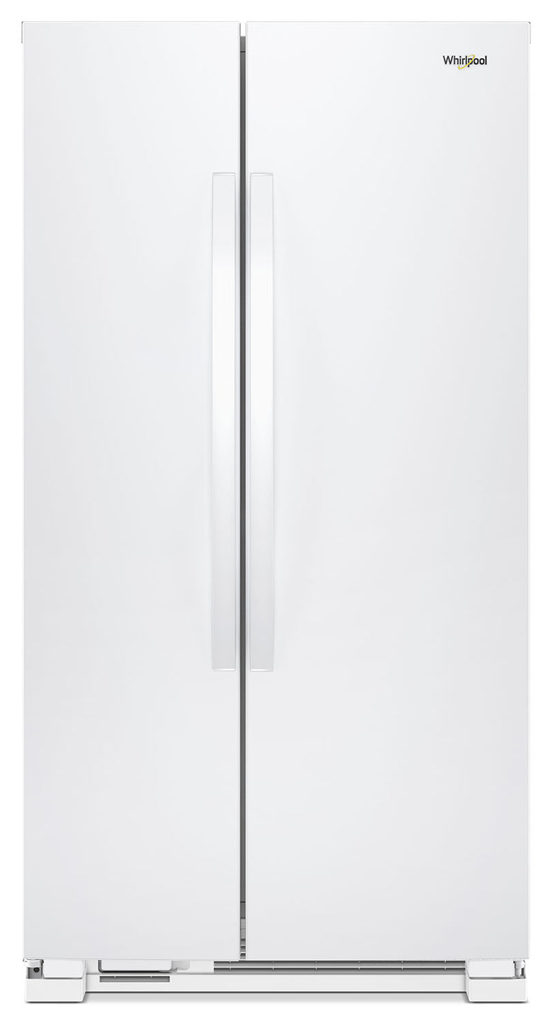 Whirlpool 22 Cu. Ft. Side-by-Side Refrigerator - WRS312SNHW