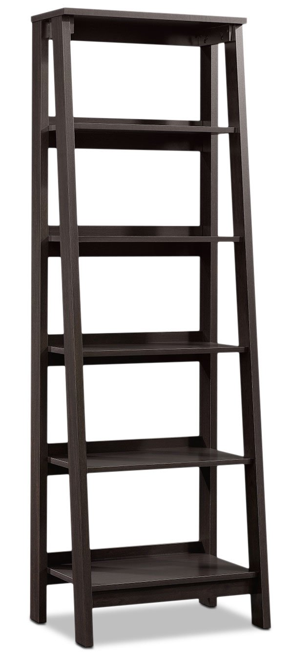 Newhaven Bookcase with Five Shelves - Jamocha Wood