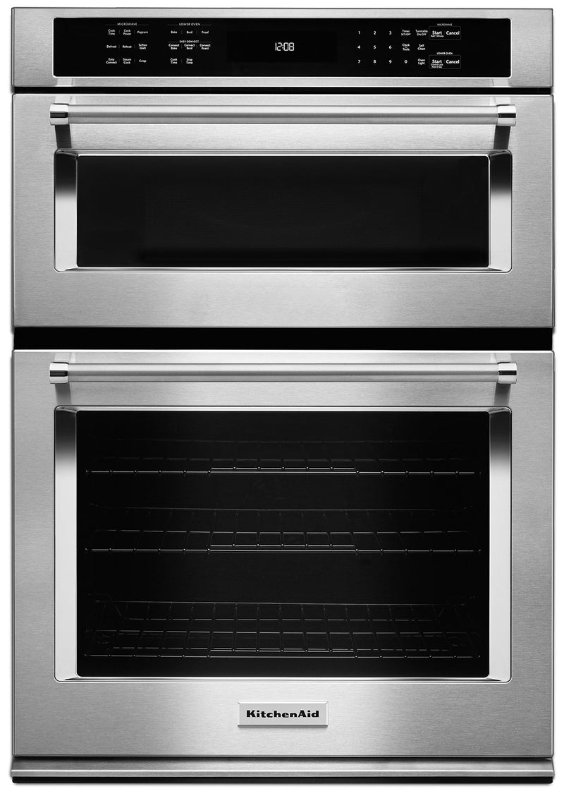 "KitchenAid 30"" Combination Wall Oven with Even-Heat™ True Convection"