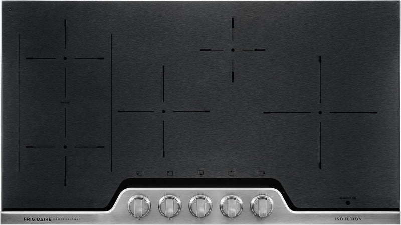 "Frigidaire Professional Stainless Steel 36"" Induction Cooktop - FPIC3677RF"