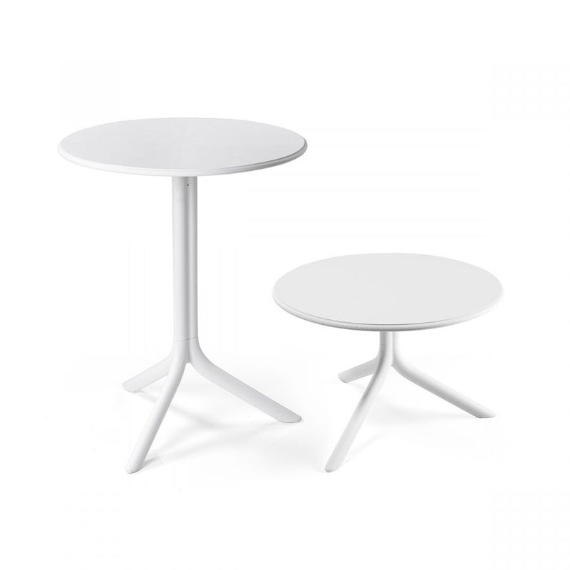 Nardi Spritz Outdoor Adjustable Bistro Tables - White