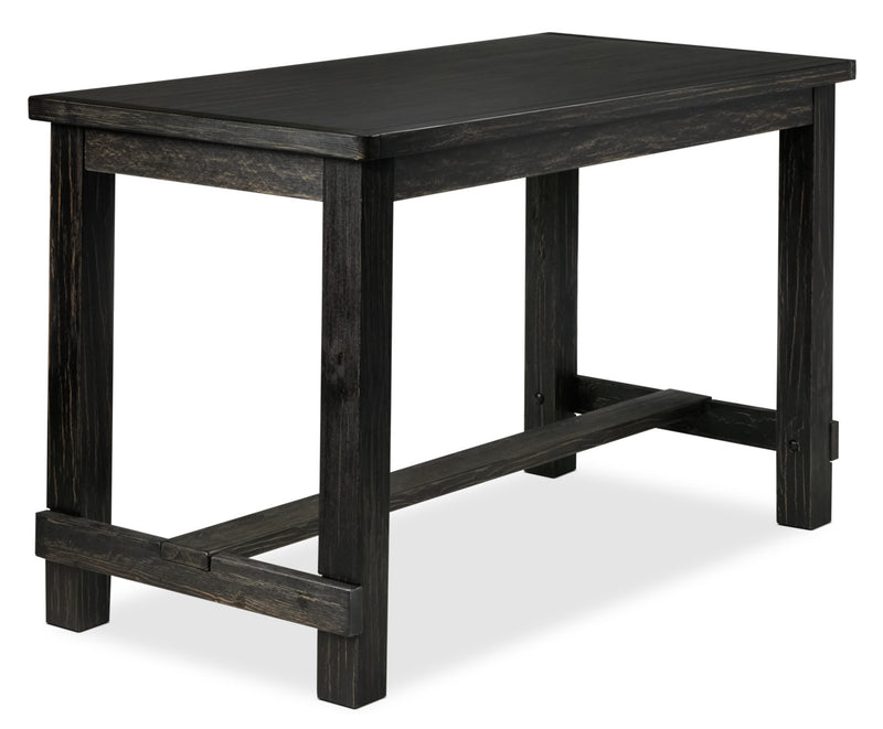 Victor Pub-Height Dining Table - Dark Grey
