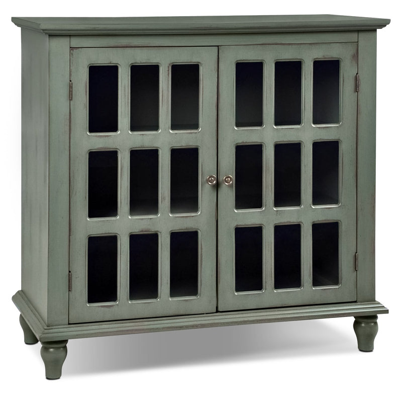 Janne Accent Cabinet - Antique Blue