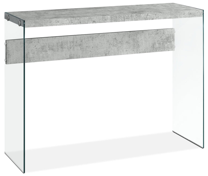 Chambly Sofa Table - Cement Grey