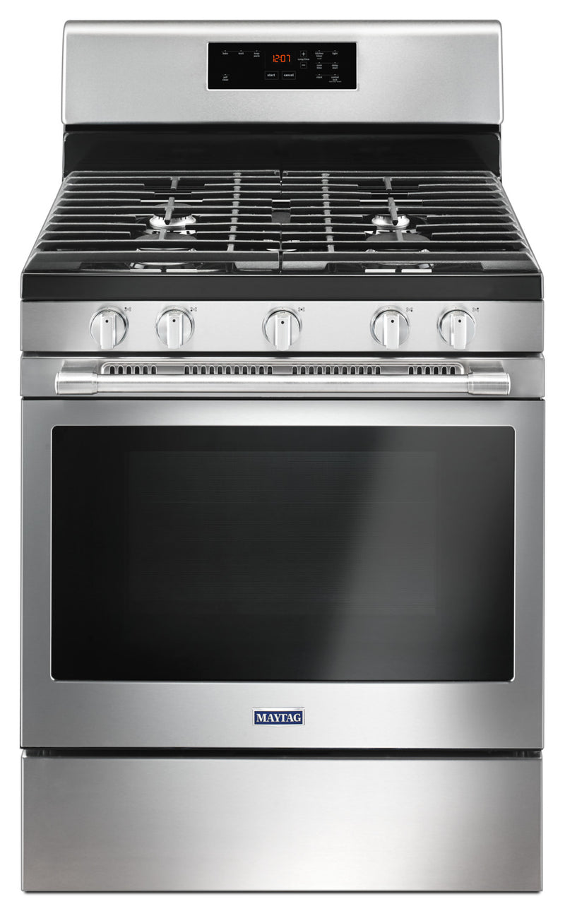 Maytag Stainless Steel Freestanding Gas Range (5.0 Cu. Ft.) - MGR6600FZ