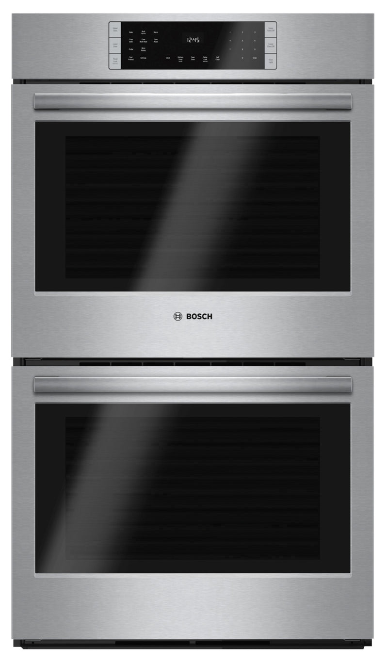 "Bosch 30"" 9.2 Cu. Ft. 800 Series Double Wall Oven - HBL8651UC"