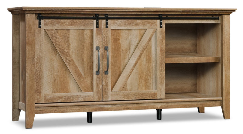 "Xiomara 65"" TV Stand - Craftsman Oak"