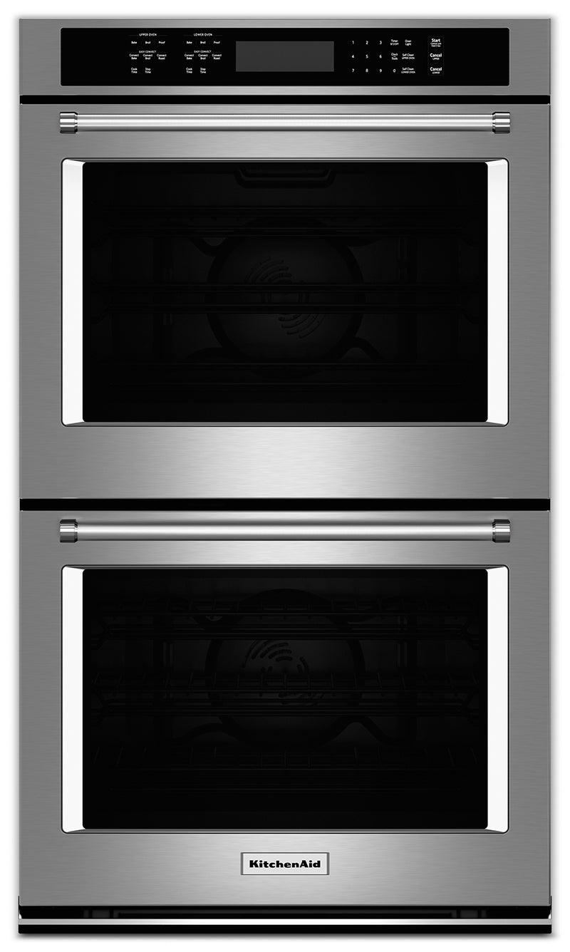 "KitchenAid 30"" Double Wall Oven - Stainless Steel"