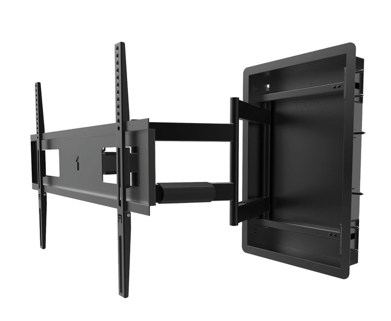 "Kanto R500 Full Motion Recessed Wall Mount for TVs 46"" to 80"""