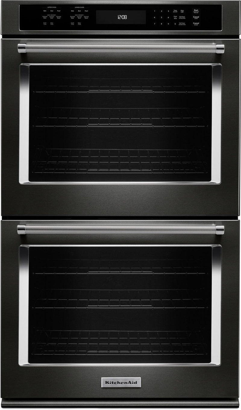 "KitchenAid 30"" Double Wall Oven - KODE500BS"