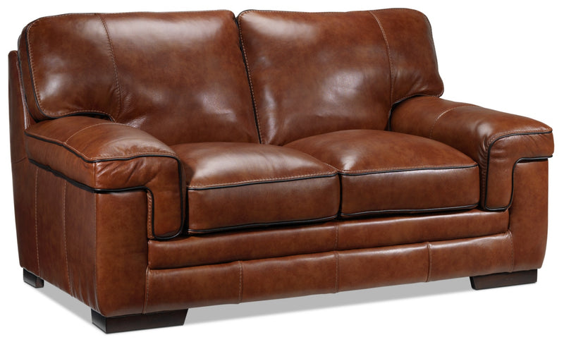 Colten Loveseat - Brown