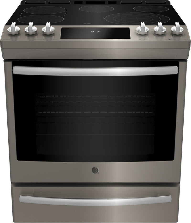 GE Profile 6.3 Cu. Ft. 5-Element Smooth-Top Electric Range – PCS940EMES