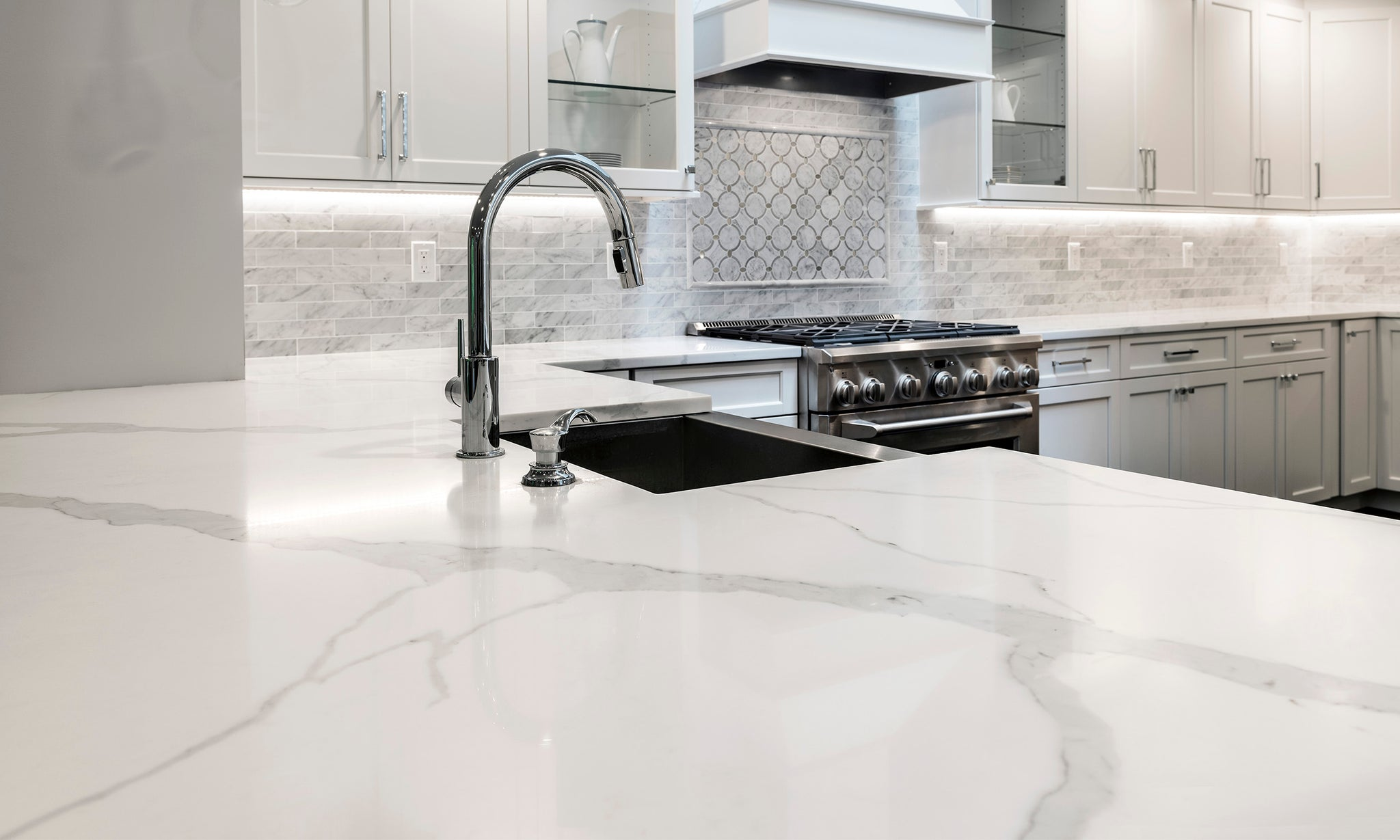 ... Calacatta Look Quartz ...