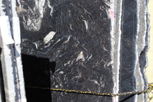 Titanium Black Quartzite Slab - Available in Polished and Leathered Finishes