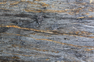 cream hues and swirls of crystal quartzite