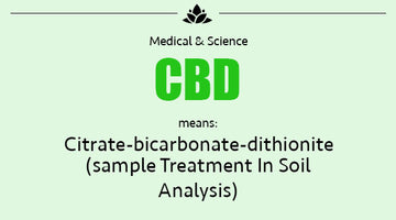 Cannabidiol Definitions