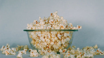 Movie Night with CBD Popcorn