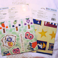 Daisy Kingdom Country Cut Outs Creative Patches Lot - Fabric Applique Lot of 7