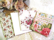 Fat Quarter Fabric Bundle - 4 Pieces - Shabby Roses Paris Bebe Betty Wang