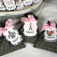 Paris French Bridal or Baby Shower Decorations Package - Bonjour!