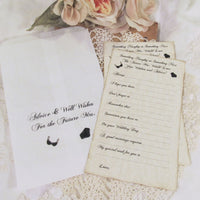 Lingerie Party Bride Advice Game Cards