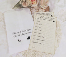 Bride Advice Game Deluxe Large Cards with Keepsake Advice Bag - Set of 12 - Lingerie Bridal Shower Party Bridal Advice Cards Shower Game