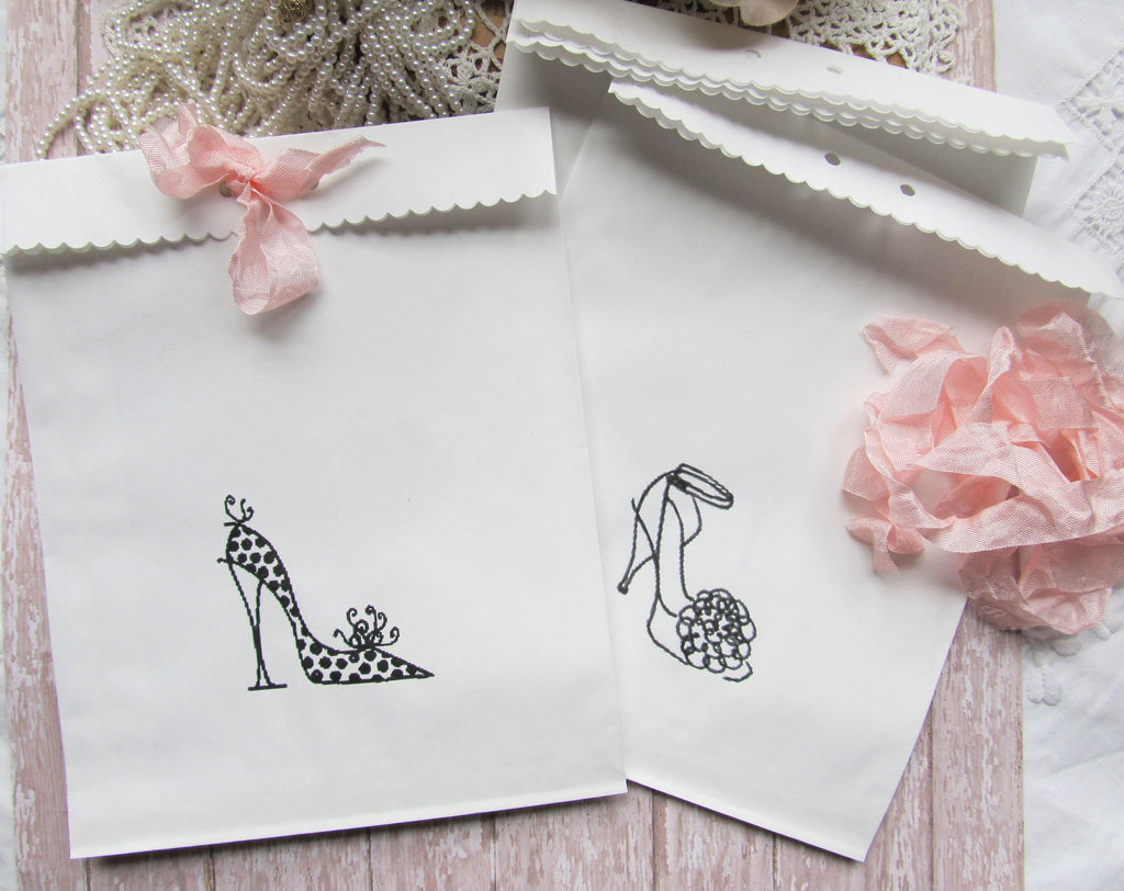 High Heel Shoes Shower Favor Gift Bag