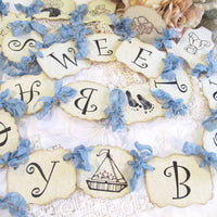 Sweet Baby Boy Shower Decorations Vintage Style