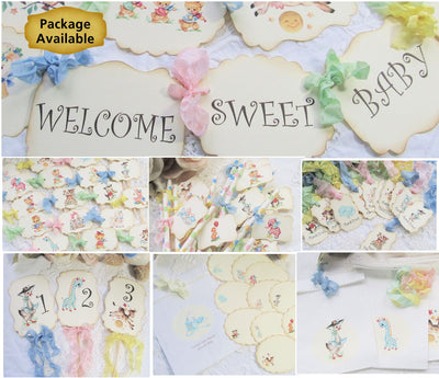 Nursery Rhyme Baby Shower or Birthday Decorations