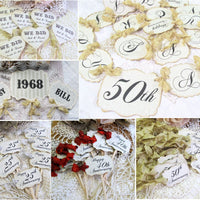 Anniversary Party Decorations Vintage Style