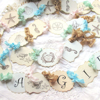 Sea Beach Baby Shower Decorations - Its a Girl Its a Boy Its Twins Nautical Ocean