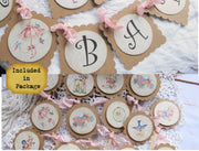 Sweet Baby Banner Vintage Style Package Kit Bundle for Girl